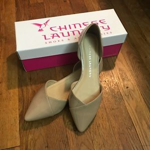 Nude Flats Size 8